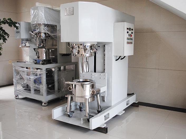 无锡银燕为上海某齿科修复材料厂提供立式捏合机