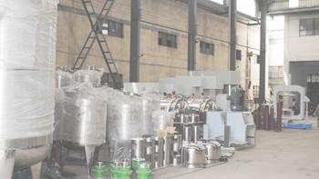 温州某集团公司参观无锡银燕工厂咨询油墨搅拌机