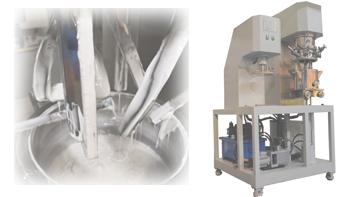 银燕双行星搅拌机在油墨树脂生产中的应用