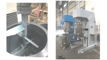 银燕搅拌机在环氧树脂胶生产中的应用