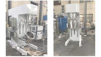 银燕高粘度高固含量物料搅拌机 双行星搅拌机