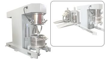 银燕爪式双行星搅拌机在高粘度物料行业的应用