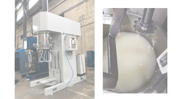 银燕双行星搅拌机在高粘度热熔胶行业的应用