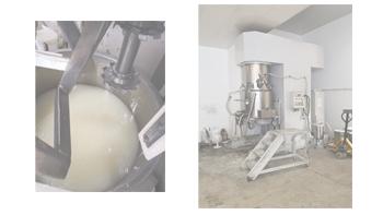 双行星真空混合搅拌机在导电材料行业的应用