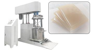 银燕多功能搅拌机在中低粘度热熔胶行业的应用