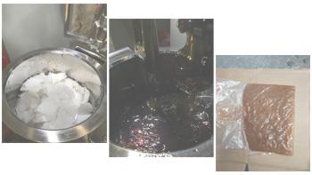 客户试验—纤维改性材料搅拌试验