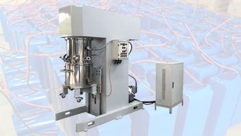 银燕双行星搅拌机在锂电池浆料生产方面的应用