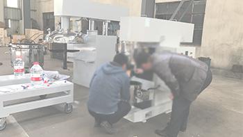银燕多功能立式双行星动力搅拌机 客户新材料搅拌试验