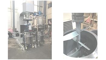 银燕非标定制多功能液压升降型胶水搅拌机