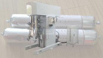 银燕立式双行星式动力搅拌机在填料密封剂生产方面的应用
